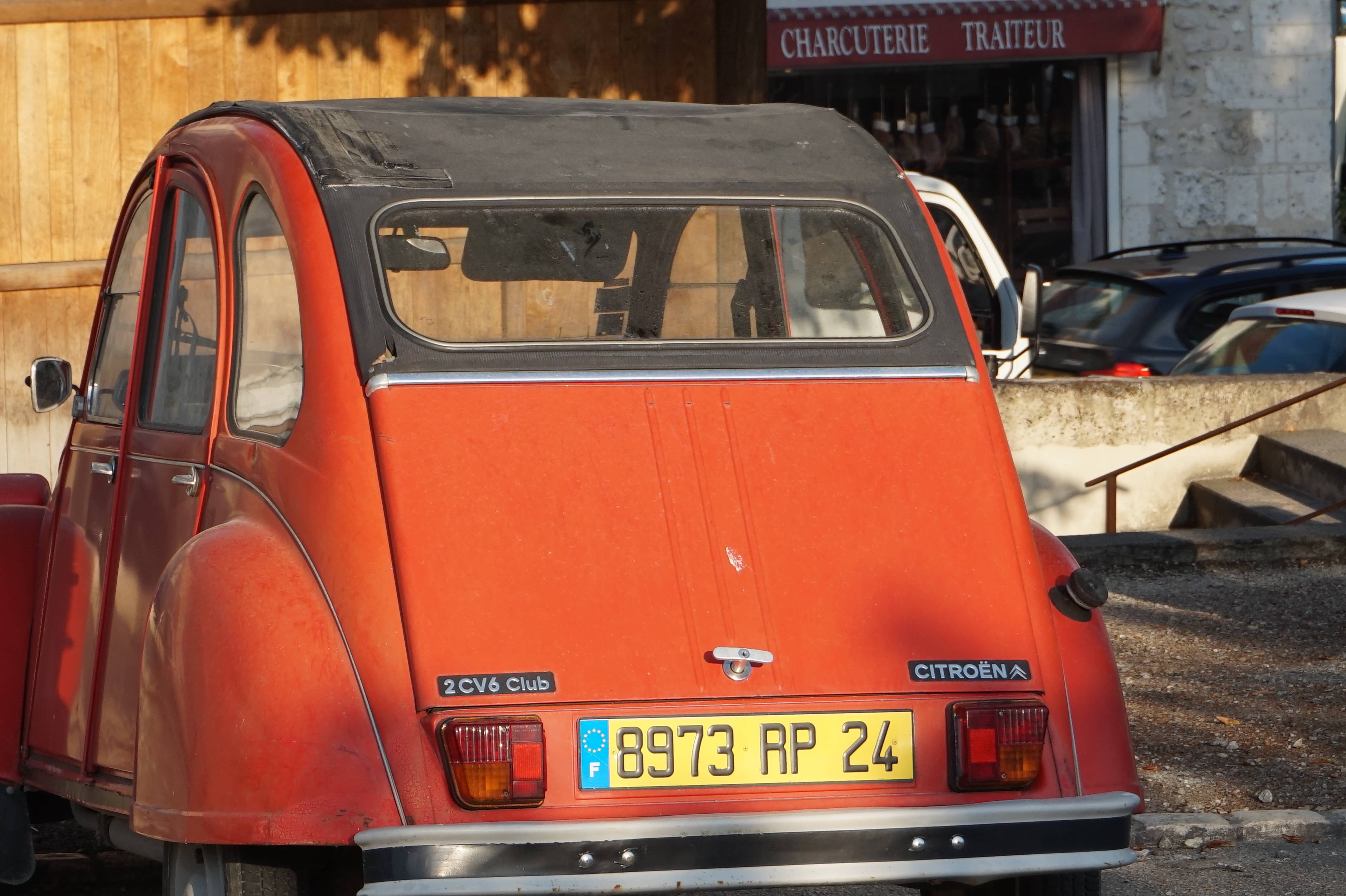 You can't have an article about roads in France without a pictures of a 2CV